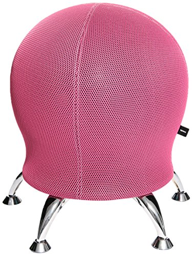 Topstar Sitness 5, Fitnesshocker mit Gymnastikball, Sitzalternative, pink