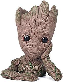 comprar comparacion thematys® Baby Groot Maceta - Figura de acción para Plantas y bolígrafos de la película clásica - Perfecto como Regalo - S...