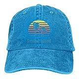 Gymini Sanibel Island - Gorras de béisbol ajustables para todas las estaciones, color azul