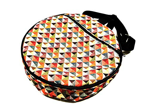 Pandeiro tambourine bag for Capoeira - Savanna design