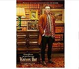 Leinwanddruck Moive Knives Out Poster Chris Evans Daniel