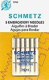Schmetz Machine Embroidery Needles 75/11