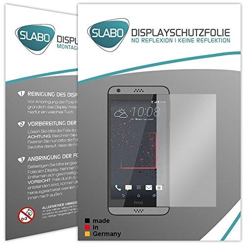 Slabo 4 x Bildschirmschutzfolie für HTC Desire 530 | 630 Bildschirmfolie Schutzfolie Folie Zubehör No Reflexion MATT