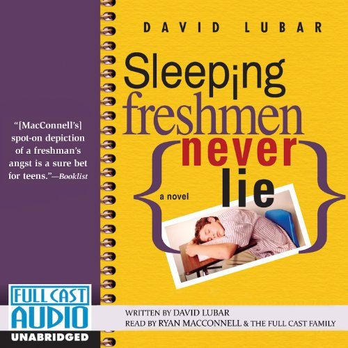 Sleeping Freshmen Never Lie audiobook cover art