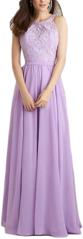 AK Beauty Women's Lace Long Prom Dresses
