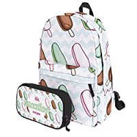 KooJoee Canvas Unisex School/Hiking/Travel/Camping/Laptop Backpack/Book Bags/Day Packs for Kids/Girls/Boys/Teenagers/Women with Free Pencil Bag
