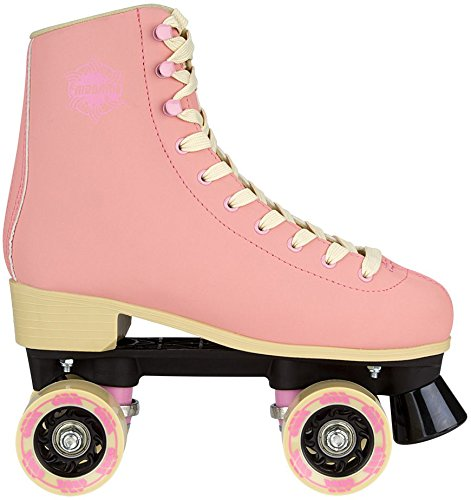 Nijdam 52ro Eye Candy Retro Rollschuhe 46 Light Pink/Beige