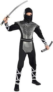 Disfraz de ninja lobo para niños y adolescentes en varias tallas