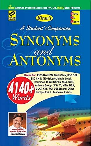 Kiran Synonyms and Antonyms (English Medium) (1808)