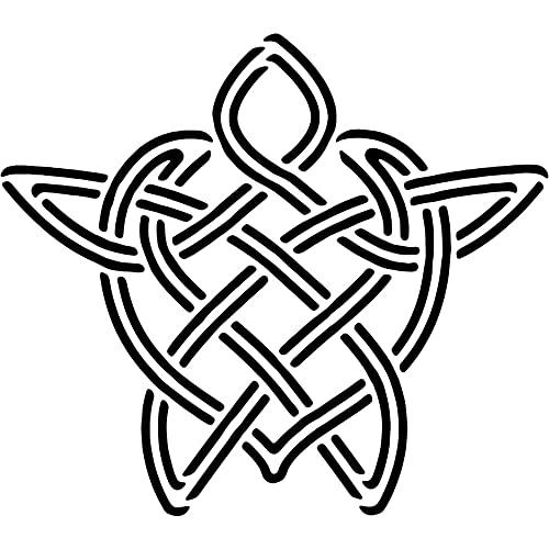 A3 'Celtic Turtle' Wall Stencil / Template (WS00014136)