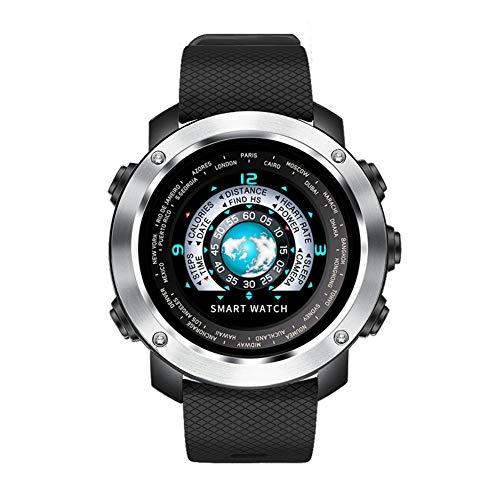 KDSFJIKUYB Smart Watch 3D UI Digitale Smart Horloge Mannen Sport Smartwatch Hartslag Calorieën Afstandsbediening Waterdichte Polshorloge Mannelijke Relogio Masculino