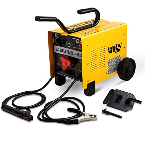 Goplus 250 AMP MMA Welder ARC Welding Machine 110V/ 220V Soldering Accessories...