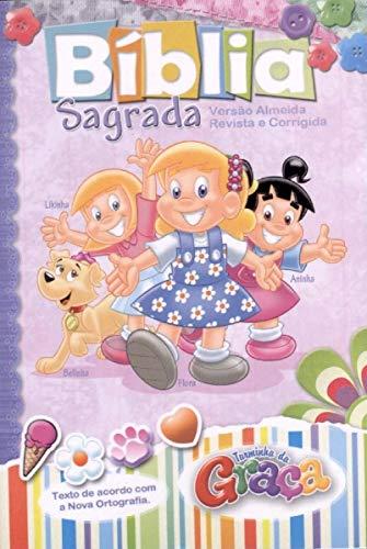 Bíblia Turminha da Graça Meninas - Capa Dura
