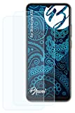 Bruni Schutzfolie kompatibel mit Blackview A70 Folie, glasklare Bildschirmschutzfolie (2X)