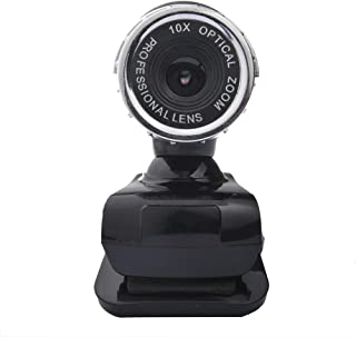 Webcam Camera 12 Megapixels USB 2.0 Desktop Clip On Laptop Pc Sound Absorption Microphone Hd Support Windows