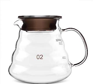 500 ml kaffe te glas kanna moln gryta droppande vattenkokare räckvidd moka server espressomaskin tank förtjockad värmebest...