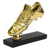GJPSXTY Gran Oferta, réplica de Trofeo de Zapato de Bota de Oro, Premio de Bota de Oro, Zapatos de fútbol para fanáticos, Recuerdos coleccionables