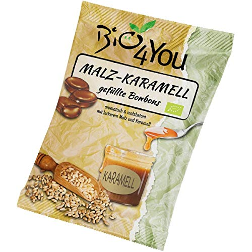 Bio4you Malz-Karamell-Bonbons (75 g) - Bio
