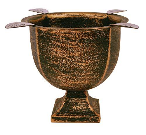 Stinky Cigar Ashtray, Designer Series, Box-Pressed, Deep Bowl Design, Windproof, Copper-Black