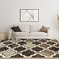 cheap SUPERIOR Gudrun indoor rugs, very soft, durable, elegant, geometric, with grid patterns …