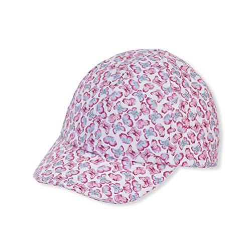 Sterntaler Baby-Mädchen Baseball-Cap 1412132 Baseballkappe, brombeer, 45