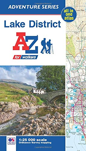 Adventure Atlas Lake District: Geographers A-Z Map (Adventure series)