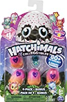 Hatchimals CollEGGtibles, 4 Pack + Bonus, Season 4 Hatchimals CollEGGtible, for Ages 5 and Up (Styles and Colors May Vary)