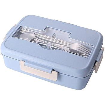 caja de almuerzo bento box de almuerzo Fiambrera Hermética Bento ...