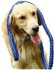 Vi.yo Cuerda de Perro Nylon Trenzada Fuerte del Perro del Animal doméstico de los 130cm Correa Duradera del Perro Resistente Size 130 * 1.3cm (Azul)