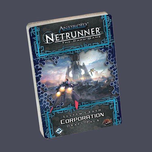 Fantasy Flight Android Netrunner System Crash Corporation P. LCG Card G