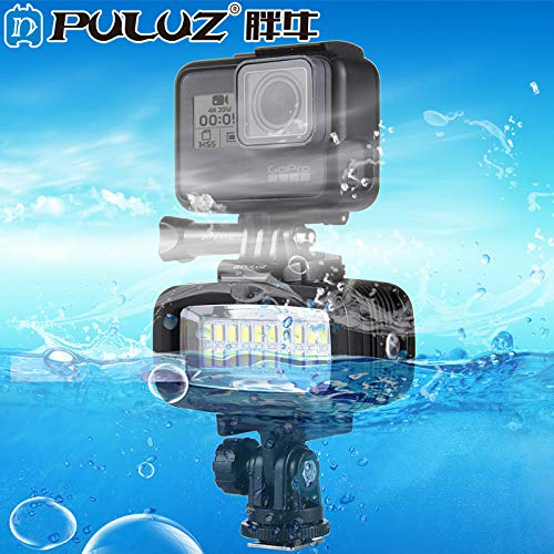Puluz 20 LED Flash Fill Light Duiken onderwatercamera Waterdicht Fotografie voor GoPro