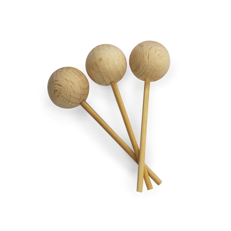 先のことを考えるハチ悪意カリス成城 アロマ芳香器 木のお家 交換用木製スティック3本入
