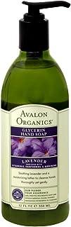 Avalon Organics Glycerin Hand Soap, Lavender 12 fl oz(Pack of 5)