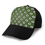 Holefg3b Gorras de béisbol, Sombreros Militares, Sombreros de papá para el día del Padre, Regalo de Acción de Gracias, fútbol Creativo, Deporte, patrón sin Costuras, Gorra de béisbol clásica