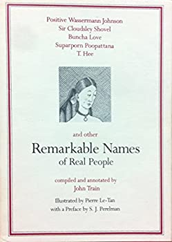 Remarkable Names of Real People 0517531305 Book Cover