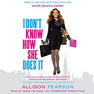 I Don't Know How She Does It     The Life of Kate Reddy, Working Mother              By:                                                                                                                                 Allison Pearson                               Narrated by:                                                                                                                                 Josephine Bailey                      Length: 11 hrs and 48 mins     158 ratings     Overall 3.9