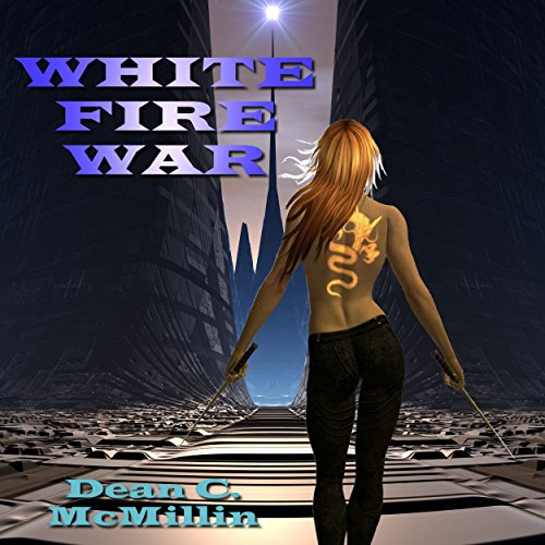 White Fire War audiobook cover art