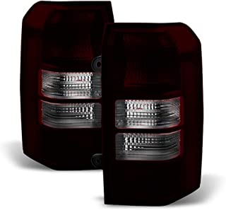 ACANII - For Update Red Smoke 2008-2017 Jeep Patriot Tail Lights Lamps Replacement Left+Right