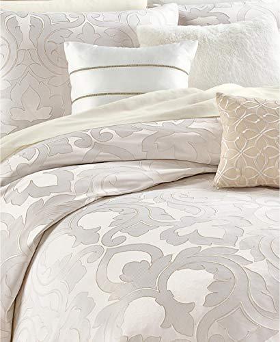 Martha Stewart Collection Chateau Antique Filigree 14 Piece Queen White Comforter Set