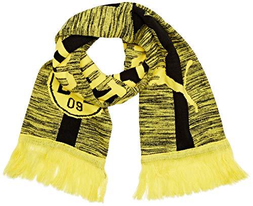 PUMA Schal BVB Fan Scarf, Cyber Yellow-Puma Black, UA, 53490