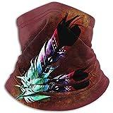 Jxrodekz Southwest Native American Indian Nackenschutz, Kopfbedeckung, Gesichts-Sonnenmaske, Zauberschal, Kopftuch, Sturmhaube, Stirnband