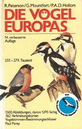 Die Vögel Europas. Ein Taschenbuch für Ornithologen und Naturfreunde über alle in Europa lebenden Vögel