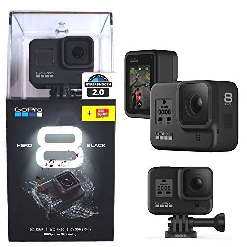 Camera GoPro Hero 8 black + Cartao Memoria 32GB