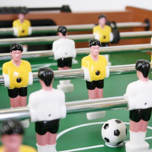 Jago - Futbolín plegable, incluye 2 bolas (diferentes colores a ...