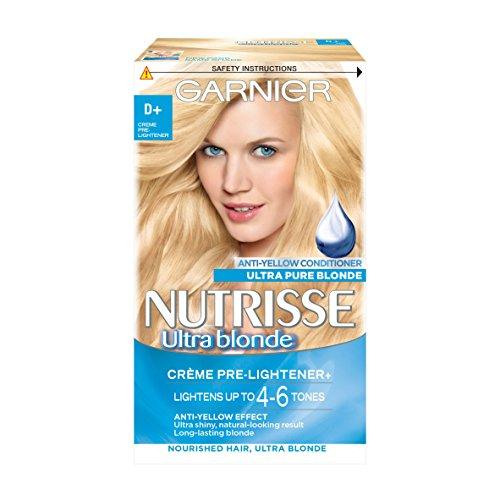 Garnier Nutrisse D+ Creme Pre-Lightener Permanent Hair D
