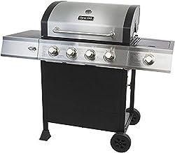 4 Burner Open Cart Propane Gas Grill