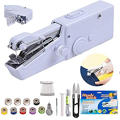 Handheld Sewing Machine - Easy to Carry Can be Quickly and Conveniently Sewed Indoors or in Travel