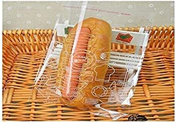 9 X 12 100Pcs Clear Sealing Bag Flat Cello//Cellophane Treat Bag Packaging Bags Storage Bags with Adhesive Closure Good for Snacks Bakery Cookies Candies