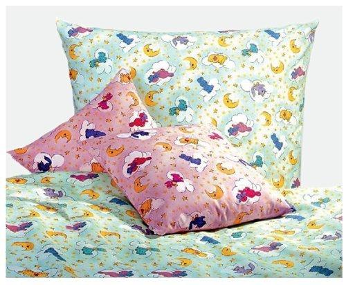 Kissenbezug 40x60 grün Kindermotive Bettwäsche für Kinder Tiermotiv