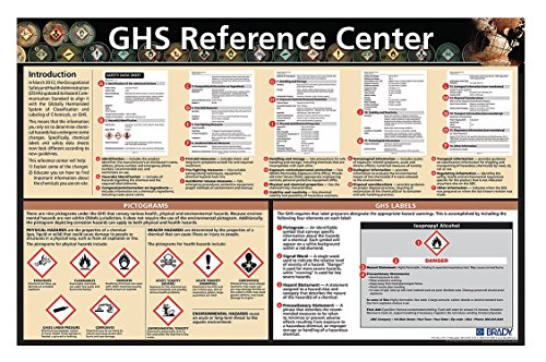 Brady 133209 Safety Poster, Laminated Paper, English